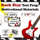 Rock Star Test Prep and Motivational Materials