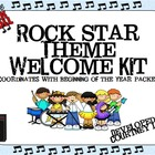 Rock Star Theme Welcome Kit