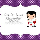 Rock-Star Themed Classroom Set