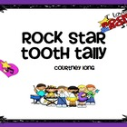 Rock Star Tooth Tally/Chart