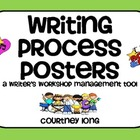 Rock Star Writing Process Posters and Management Tool with