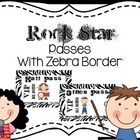 """Rock Star"" passes with Zebra border"