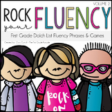 Rock Your Fluency ~ The First Grade Edition {Editable}