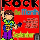 Rock the Month- September {resources for busy teachers}