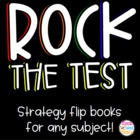 &quot;Rock the Test&quot; Foldable Lapbook  *can be edited*