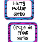 Rockin&#039; Book Basket Labels