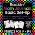 Rockin' Math Journals - Basic Set-Up