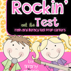 Rockin&#039; Out the Test {Math and Literacy Test Prep Centers}