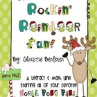 Rockin&#039; Reindeer Fun! Math &amp; Literacy Unit