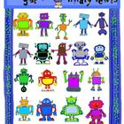 Rockin' Robots Clip Art for Teachers