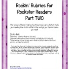 Rockin' Rubrics for Rockstar Readers TWO