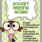 Rockin' Writing Goals!
