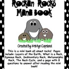 Rocks Mini Book