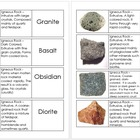 Rocks and Mineral Flashcard Set (Free) from my Geology Top