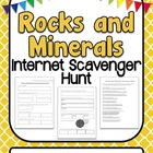 Rocks and Minerals Internet Scavenger Hunt