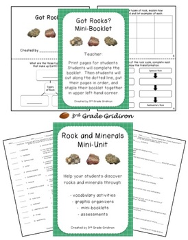 Rocks and Minerals Mini-Unit