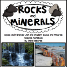 Rocks and Minerals Science Notebook