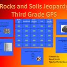 Rocks and Soils Jeopardy Review Game-Georgia
