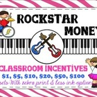 Rockstar Money Classroom Incentives