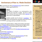 Roe vs. Wade and Supreme Court CLIP (Creative Learning in