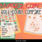 Roll, Count, and Compare - Games for Comparing More and Less