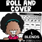 Roll & Cover Game Boards (L-Blends)