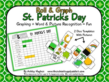 Roll & Graph {St. Patrick's Day}