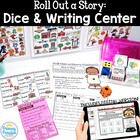 Roll Out a Story: A Dice and Writing Center