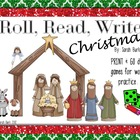 Roll, Read, Write - Christmas
