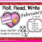 Roll, Read, Write - February