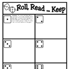 Roll, Read...Keep Game--First 100 Fry Phrases