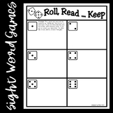 Roll, Read...Keep Game--Second 100 Fry Phrases