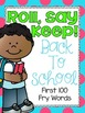 Roll, Say Keep {Back To School Fry Sight Words}