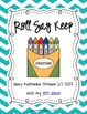 Roll Say Keep {Dolch Sight Words List 1}