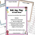 FREE Roll, Say, Play:  Nouns!