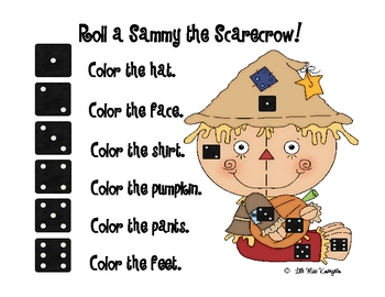 Roll a Sammy the Scarecrow!