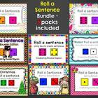 Roll a Sentence - Bundle Pack
