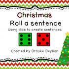 Roll a Sentence - Christmas Edition