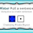 Roll a Sentence - Winter Edition