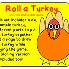 Roll a Turkey- Spanish