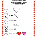 Roll a Valentine Worksheet