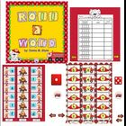 Roll a Word (fire safety theme) Smart Board
