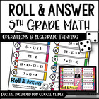 Roll and Answer Math Centers for Common Core *Operations a