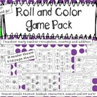 Roll and Color Game Pack