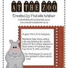 Roll and Race At the Zoo (Doubles)