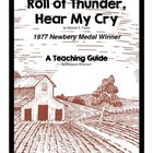 Roll of Thunder, Hear My Cry     A Novel Teaching Pack