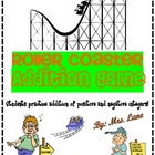 Roller Coaster Addition Game! (Great Center or Workstation!)