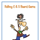 Rolling C &amp; S Board Game (Complementary and Supplementary Angles)