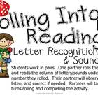 Rolling Into Reading!  ~ Letter Recognition and Sounds