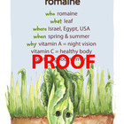 Romaine Poster - Available in English and Spanish!